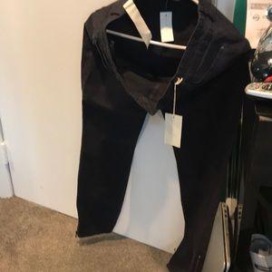 Black ankle pants brand new